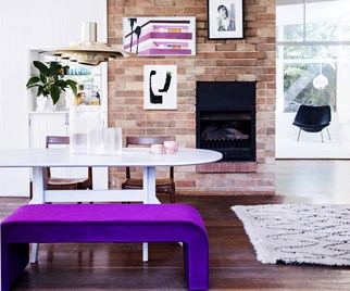 purple homewares