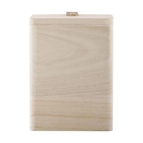 Wood Storage Box, $5
