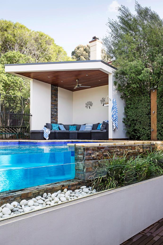 Ensure there's enough space to lounge poolside.