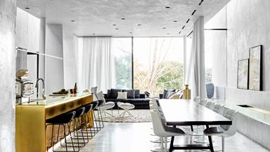 Luxurious transformation of a former factory in Melbourne
