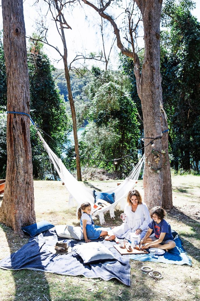 """Somehow we eat all day and I relish my 2.30pm hammock nap before kicking off for the evening. A s'mores session in the afternoon (if we have no fire ban) is always a great way to get pepped up for the night."