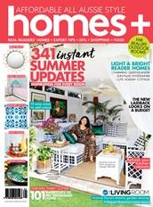 Homes Plus magazine cover