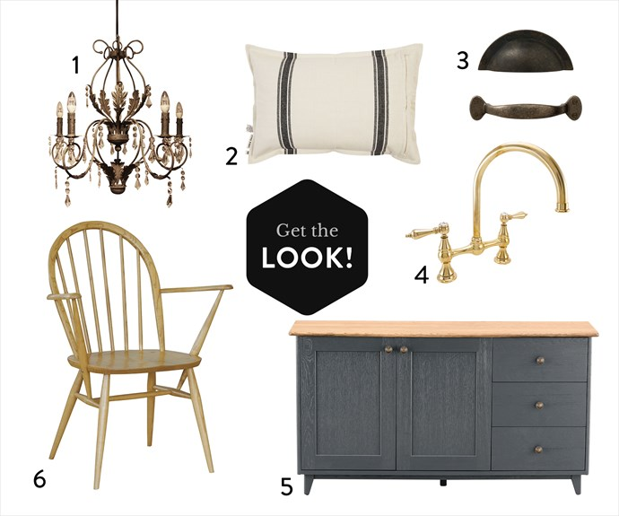 """1. 'Loretta' iron and glass chandelier, $960, [French Country Collections](http://www.frenchcountrycollections.com.au/