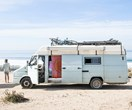This couple's DIY campervan conversion is a dream home on wheels