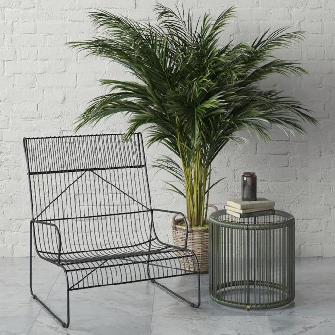 "Mykonos Outdoor Armchair, $599 at [Brosa](http://fave.co/2D3lHL3|target=""_blank"")"
