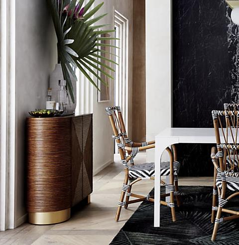 "Rattan Bar, $1211 at [Crate & Barrel Australia](http://fave.co/2CUgv98|target=""_blank"")"