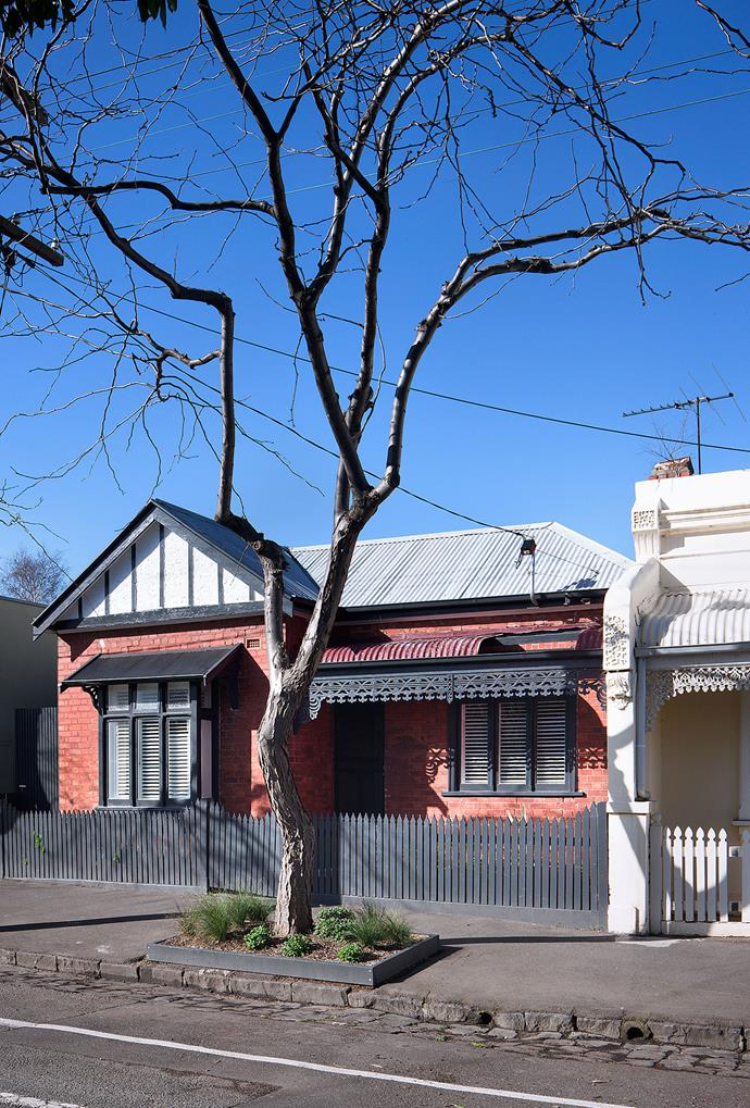 The appealing circa-1905 frontage only required freshening up.