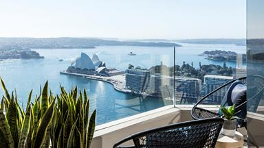A sophisticated penthouse overlooking Sydney Harbour