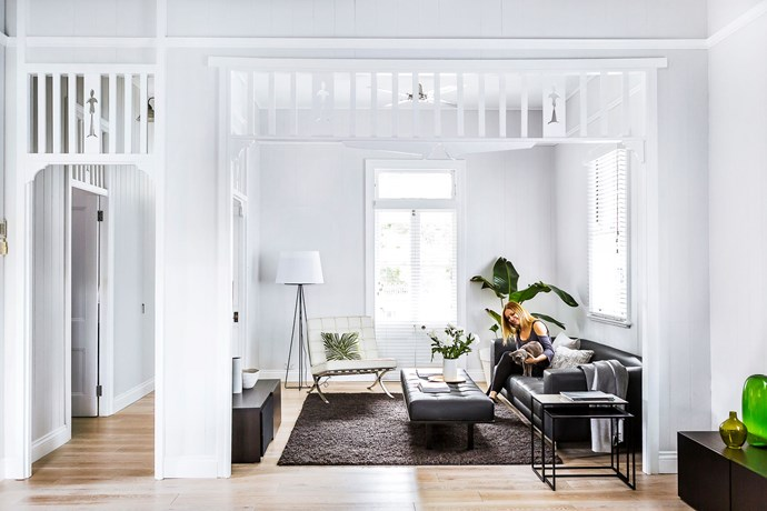 "An architect and and interior designer have transformed this [urban Queenslander cottage](http://www.homestolove.com.au/gallery-design-duo-gives-cottage-a-contemporary-twist-3178|target=""_blank"") into some truly special. Photo: Maree Homer"