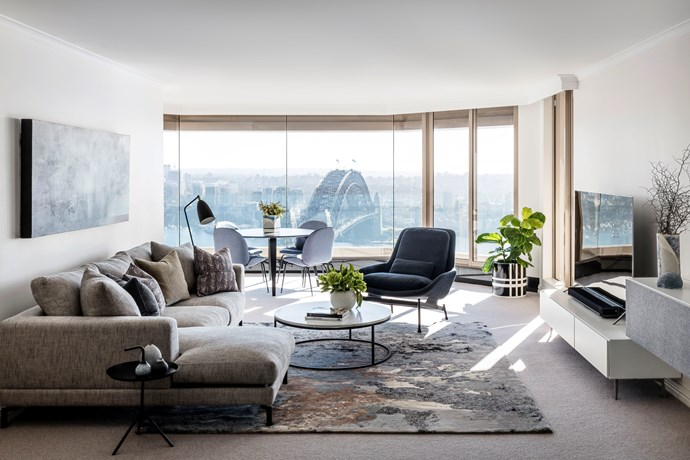 Sydney home by Ioanna Lennox Interiors. Photograph by Felix Forest. From *Belle* February/March 2018.