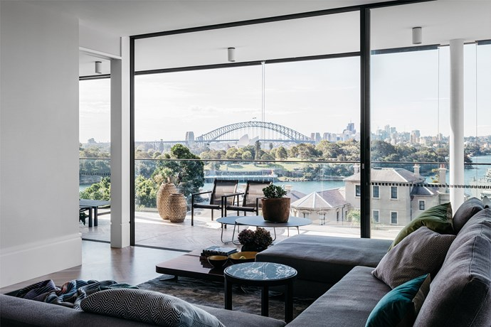 Sydney home by SJB. Photograph by Felix Forest. From *Belle* Smart Spaces 2016.