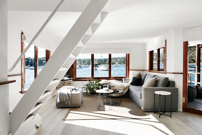 Sydney houseboat by Infinite Design. Photograph by Prue Ruscoe. From *Belle* February/March 2017.