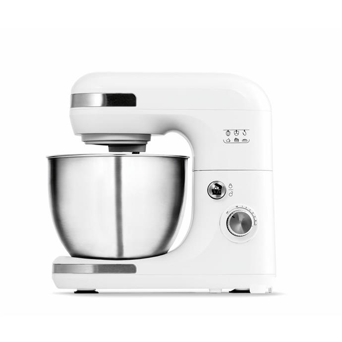 Bench mixer in white, $69.
