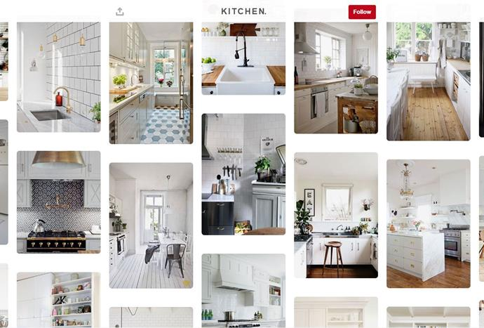 """Interior obsessed lifestyle blogger [Kate La Vie's](https://www.pinterest.com.au/katelavie_/k-i-t-c-h-e-n/ target=""""_blank"""") Pinterest account is carefully curated with stylish boards that are guaranteed to inspire you to reorganise your work spaces and make DIY plant fittings."""