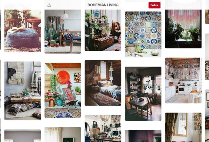 """Simple colour palettes and intricate design details are what make the [Lobster & Sawn](https://www.pinterest.com.au/lobsterandswan/ target=""""_blank"""") page so compelling, from bohemian and Scandic style inspiration to boards solely dedicated to nude hues."""