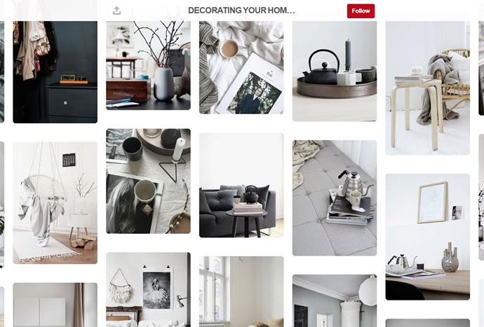 """Founder of the interior design blog, [Hege in France](https://www.pinterest.com.au/hegeinfrance/ target=""""_blank""""), also curates a stylish Pinterest account dedicated to Scandinavian style, muted colours and architectural inspiration for every room in the house."""
