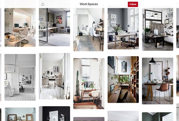 """Lifestyle blogger, [Dear Designer](https://www.pinterest.com.au/deardesigner/ target=""""_blank""""), has boards ranging from chandelier inspiration to tips for creating the perfect indoor/outdoor space using plants."""