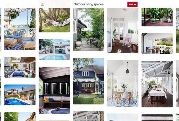 "[Australian House & Garden](https://www.pinterest.com.au/houseandgardenau/?eq=houseandgarden&etslf=NaN target=""_blank"")'s Pinterest account offers inspiration for every step of the homemaking journey, from renovations to design and decorating."