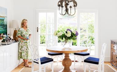 A vibrant Hamptons-style home in coastal Victoria