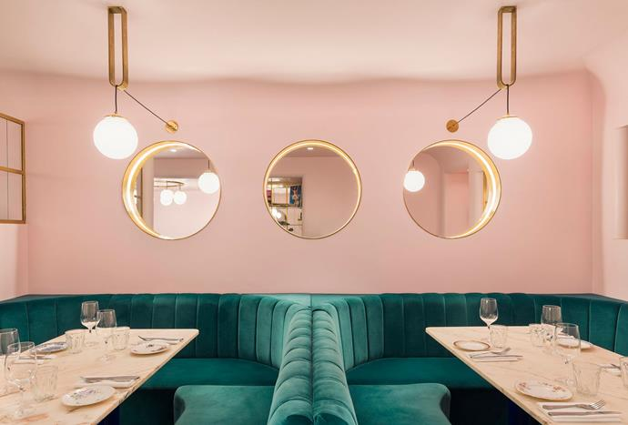 """**NAC London** <br><br> Two of the biggest trends right now, velvet and millennial pink, make NAC London the perfect place to dine. The stylish, yet modern décor brings an element of sophistication and luxury to the overall character of the restaurant. *Photo via [NAC London](https://www.naclondon.co.uk/