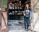 Inside Sonya Marish's rustic Byron Bay studio