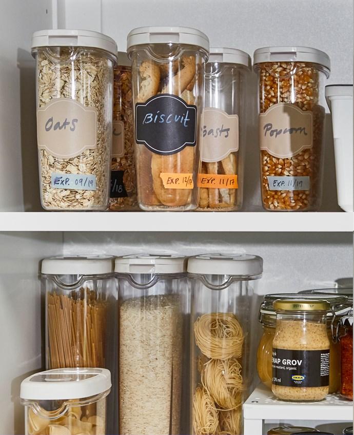 IKEA 365+ dry food jar with lid, $4.99.