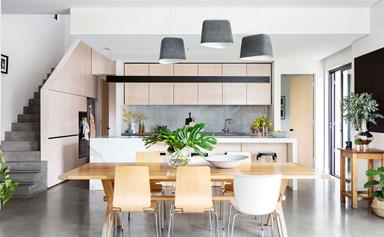 A 1920s home undergoes industrial style renovation in Fremantle