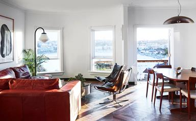 A Latin-inspired makeover of an Art Deco apartment in Bondi
