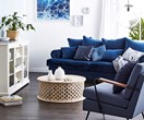 Style it: luxe coastal living room