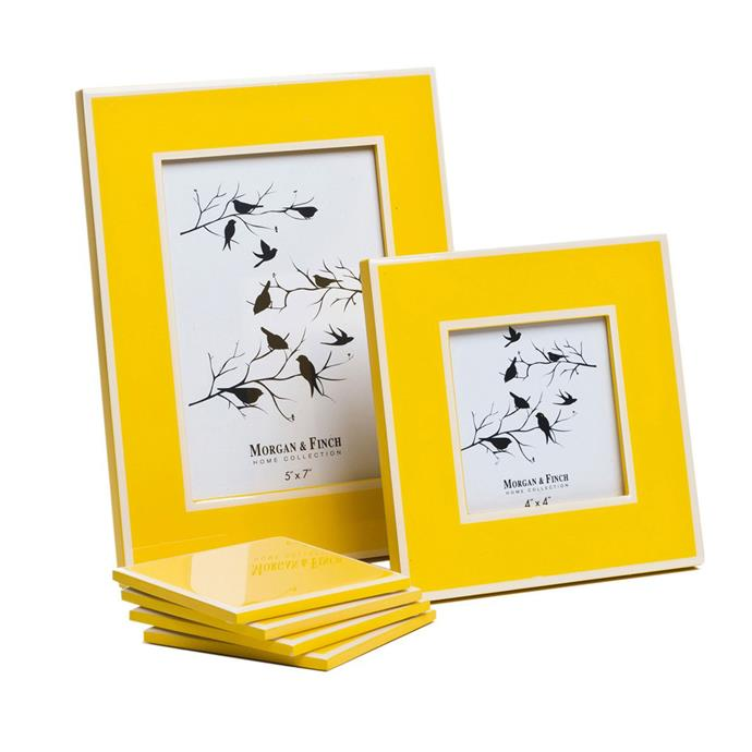 "Photo Frame, from $15, at [Bed Bath N' Table](http://www.bedbathntable.com.au/borders-frames|target=""_blank"")."