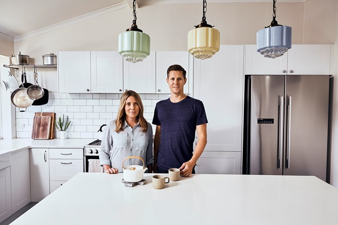 """Inga and Mike now live life by the """"less is best"""" aesthetic and have drastically decluttered their lives of possessions – and complications."""