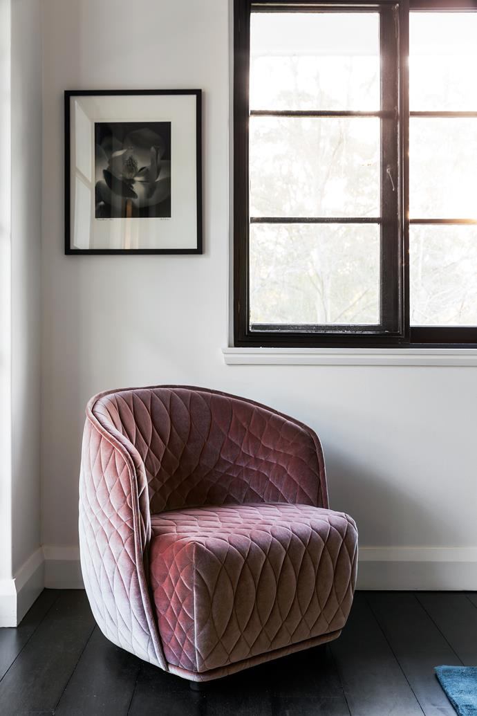 Patricia Urquiola 'Redondo' chair from Hub. Photograph, Magnolia 1, by Jill White