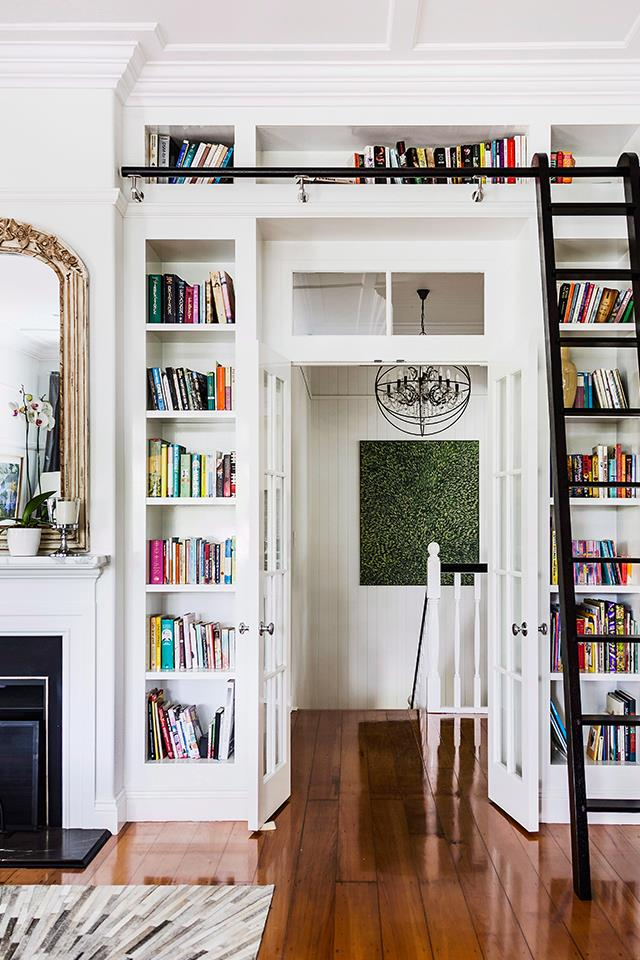 Books not only make a room a lot more interesting to look at, but they can also make an effective noise barrier. *Photo: Maree Homer / Bauer Syndication*