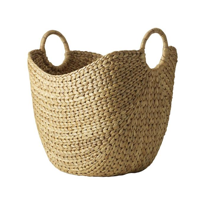 "**Baskets**  Curved Basket, $69 from [West Elm](https://rstyle.me/n/cyxzewvs36|target=""_blank"")."