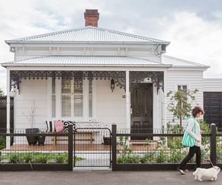 Brick house exterior renovation