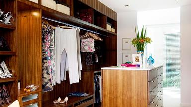 How to design the ideal walk-in wardrobe