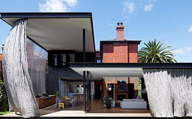 A Federation home with a Japanese-inspired extension
