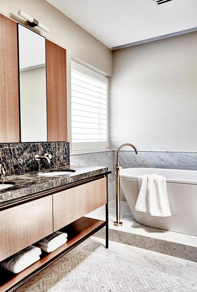 LED wall lights provide even light coverage and are great when used to illuminate any mirror or sink. *Photography: Kristina Soljo*