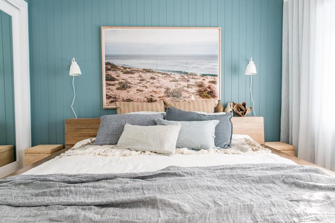 Soft greys and blues are a great nod to coastal chic without being kitsch. *Photo: supplied*