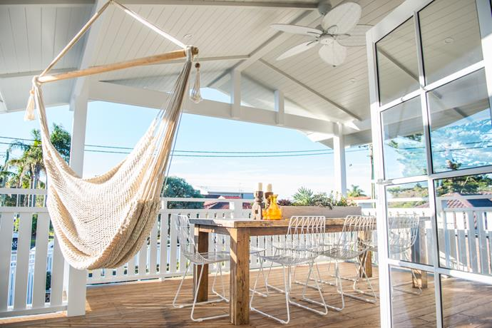 What's an outdoor space without a hammock? *Photo: supplied*