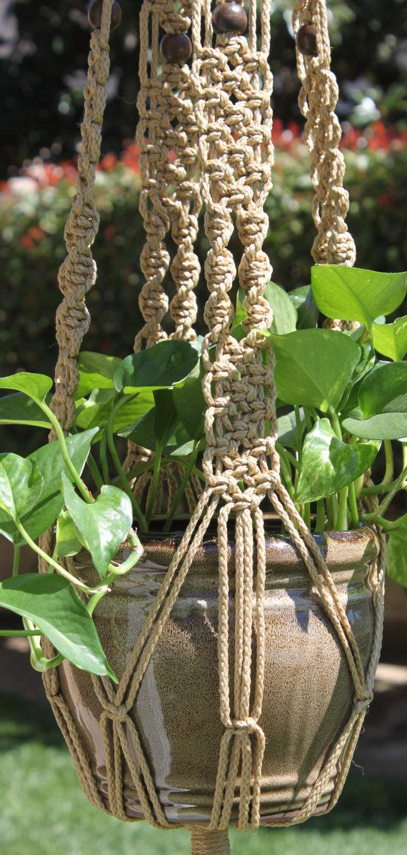 **Macramé:** wall hangings, plant hangers, lightshades – you name it! People went mad for macramé in the 80s.