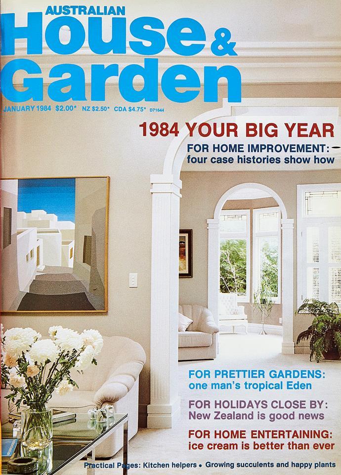 The January 1984 edition of *Australian House & Garden*