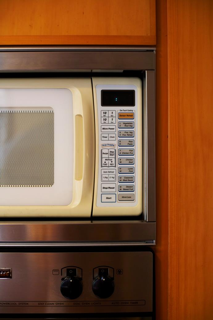**Microwaves:** And microwave cookbooks to boot.