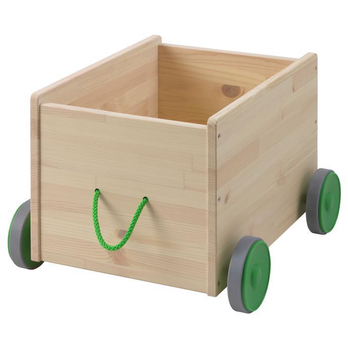 "FLISAT Toy storage with wheels, $49,  [Ikea](http://www.ikea.com/?ccTLD=AU|target=""_blank""|rel=""nofollow"")"