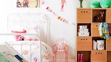 Clever kids' storage ideas