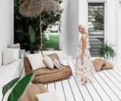 Lana Taylor's modern Mediterranean-style home