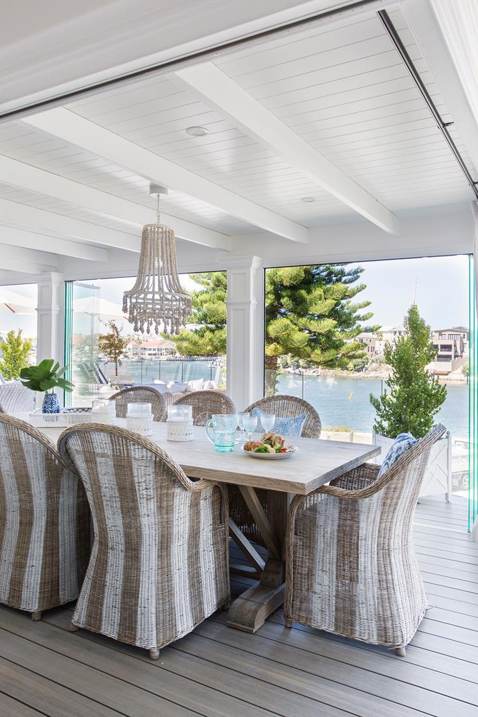 Here, Hamptons style captures Australia's love affair with the outdoors while ensuring a relaxed and stylish space for entertaining family and friends.