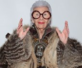 Style icon Iris Apfel has launched her own homewares range