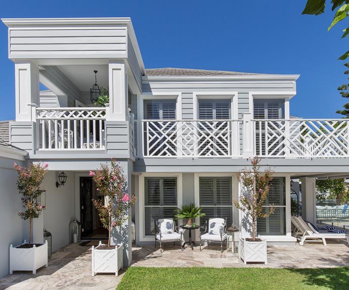 Hamptons home australia