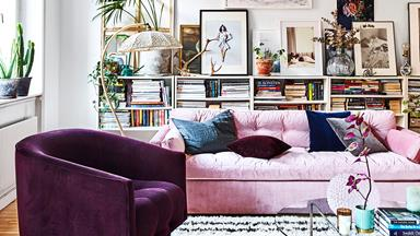 A modern-boho apartment with an international feel